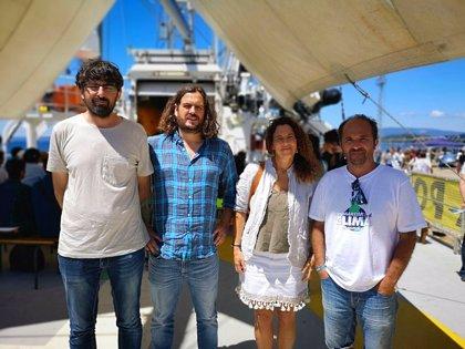 """Podemos Galicia pide a la Xunta que explique si comparte """"el veto"""" del Puerto de Vigo al barco de Greenpeace"""