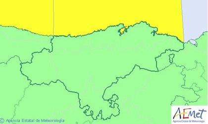 Cantabria estará este lunes en riesgo por fenómenos costeros