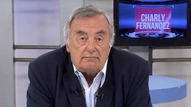 El periodista argentino Charly Fernández