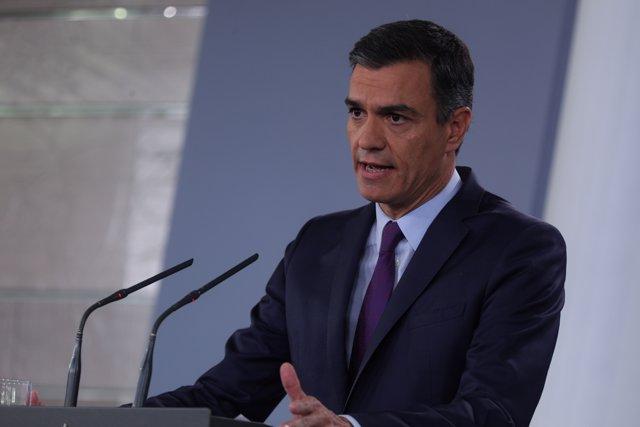 Audiencia del Rey a Pedro Sánchez, del Partido Socialista Obrero Español (PSOE)