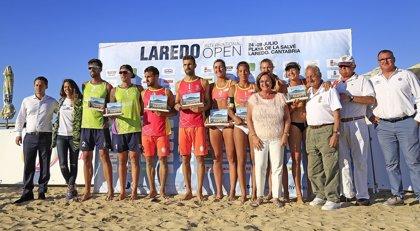 Paula Soria y Belén Carro y Javier y Vicente Monfort reinan en el Laredo International Open