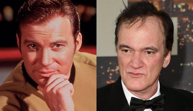 Imagen de William Shatner como el capitán Kirk en la serie de Star Trek,que se ha ofrecido a volver a la franquicia con Tarantino