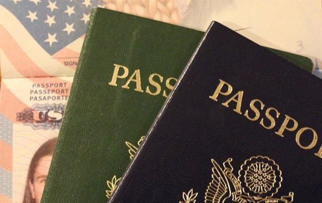 Visado, pasaporte, Estados unidos
