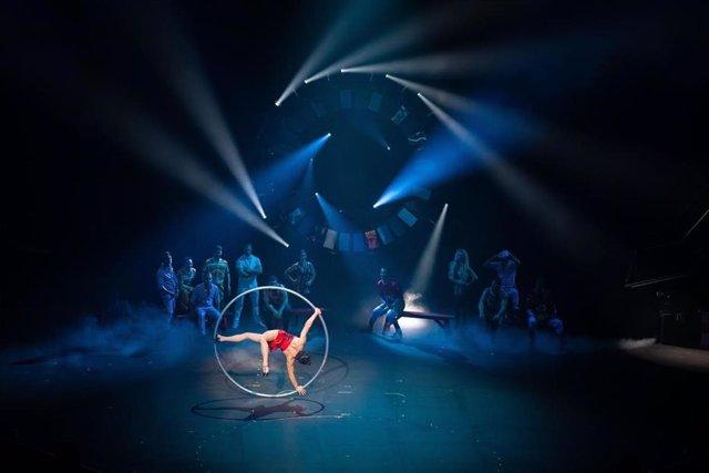 L'espectacle 'Rebel' del Cirque du Soleil, que s'ha pogut veure a Andorra tot aquest mes de juliol.