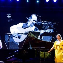 Marina Heredia en el IV Encuentro Internacional de Guitarra Paco de Lucía en Algeciras