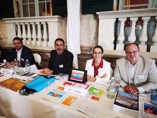 Representantes de la Costa del Sol en unas jornadas profesionales internacionales
