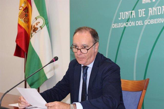 El delegado de Empleo en Huelva, Antonio Augustín.