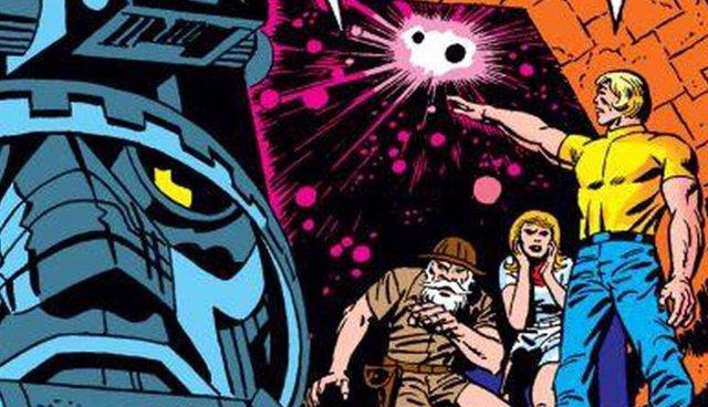 Imagen del cómic de Los Eternos, de Jack Kirby