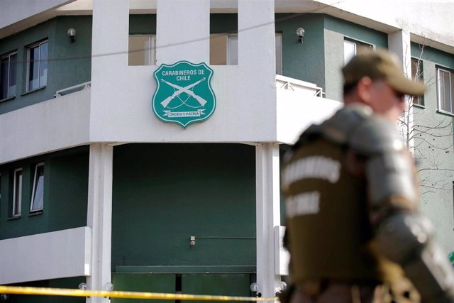 Comisaría atacada en Santiago