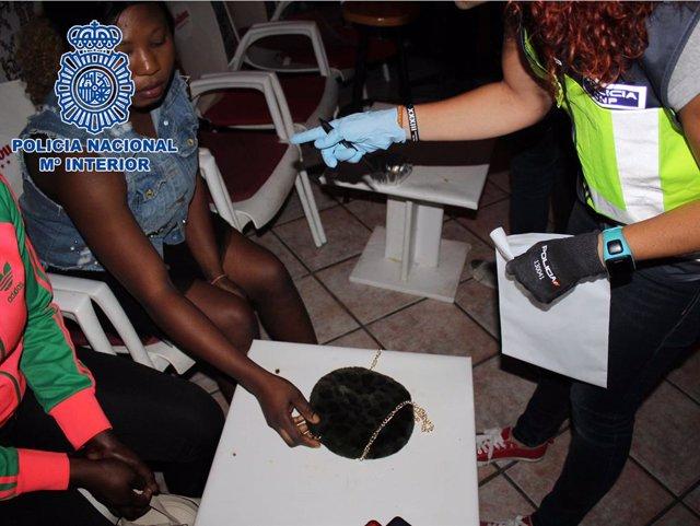 Operació contra la tracta de dones nigerianes a Almeria