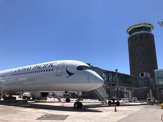 Cathay Pacific operarà els seus vols entre Barcelona i Hong Kong amb l'avió A350-1000