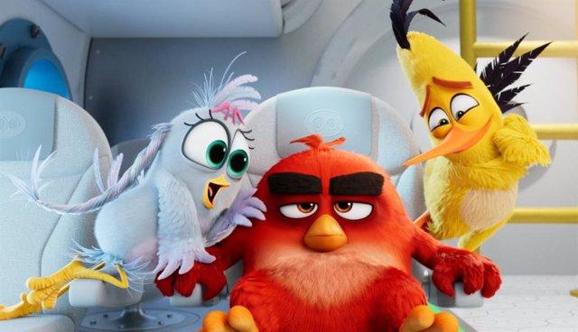 Imagen de Angry Birds 2, secuela de la cinta de animación basada en el exitoso videojuego