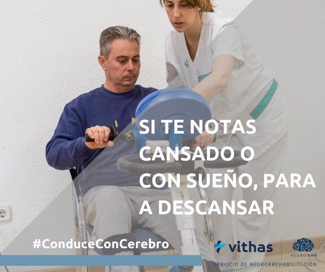 Campaña de seguridad vial #ConduceConCerebro