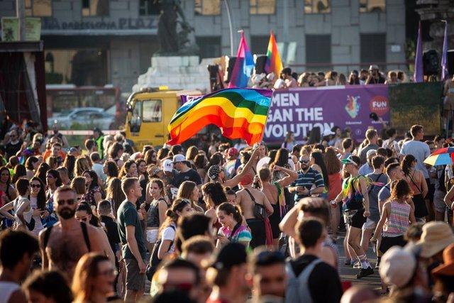 Manifestación Pride! Barcelona con motivo del Orgullo LGTBI