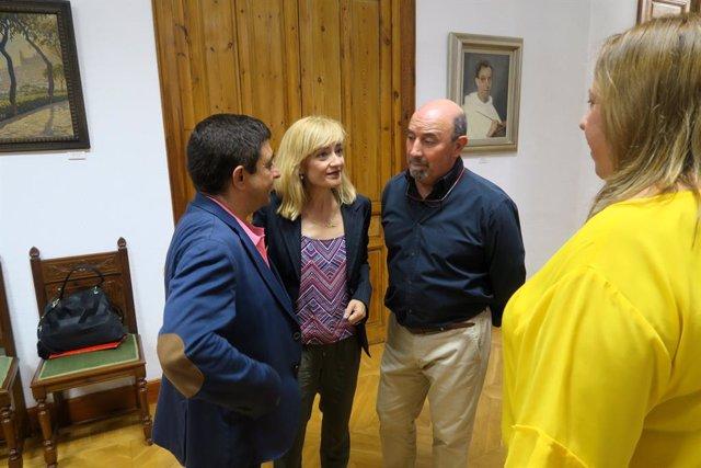 Visita de Carmen Castilla a la Diputación de Jaén