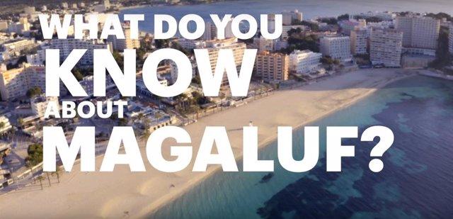 Imagen de la campaña 'The New Magaluf' de Meliá Hotels International