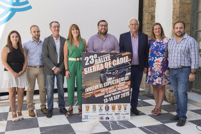 Presentación del cartel de la 23 edición del Rally Sierra de Cádiz