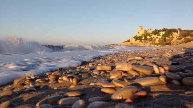 Playa del litoral tarraconense