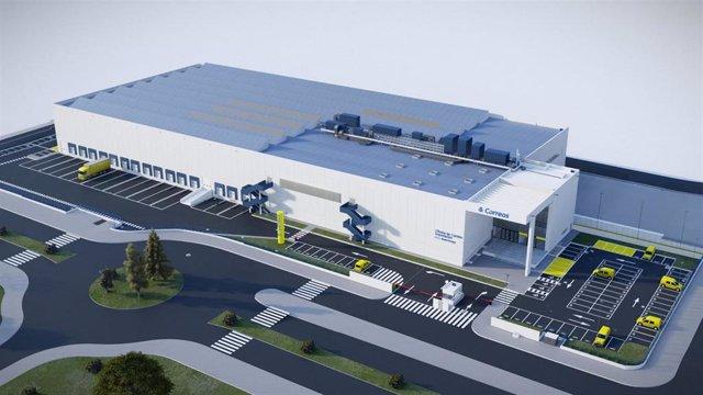 Nuevo centro logístico que Correos construirá en el aeropuerto de Barajas