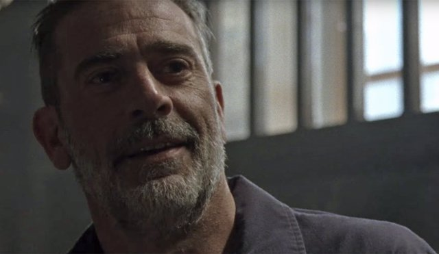 Negan en la 10ª temporada de The Walking Dead
