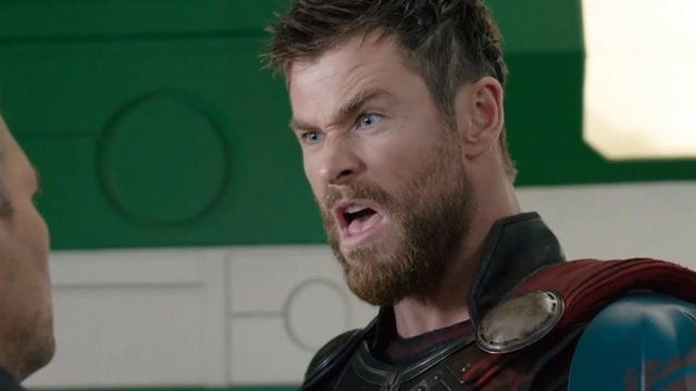Chris Hemsworth es Thor en Marvel