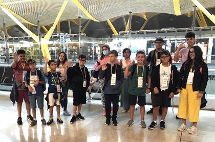 219 menores con cáncer de toda España viajan a Irlanda e Italia con los campamentos de la Fundación Aladina