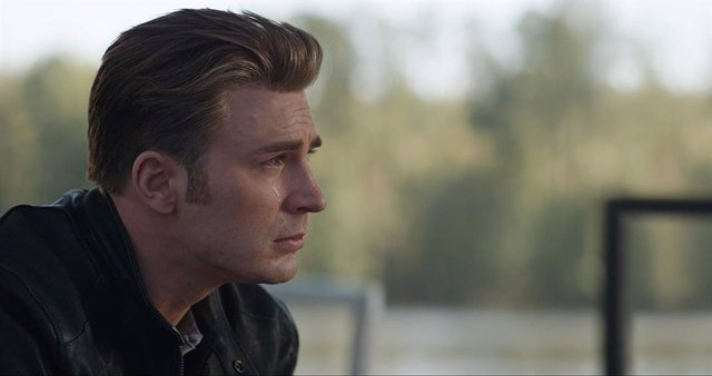 Imagen de Chris Evans como el Capitán América en Vengadores: Endgame