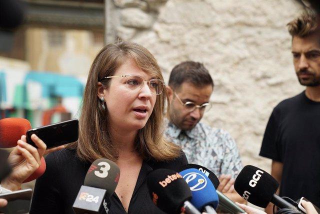 La tinent d'alcalde Janet Sanz
