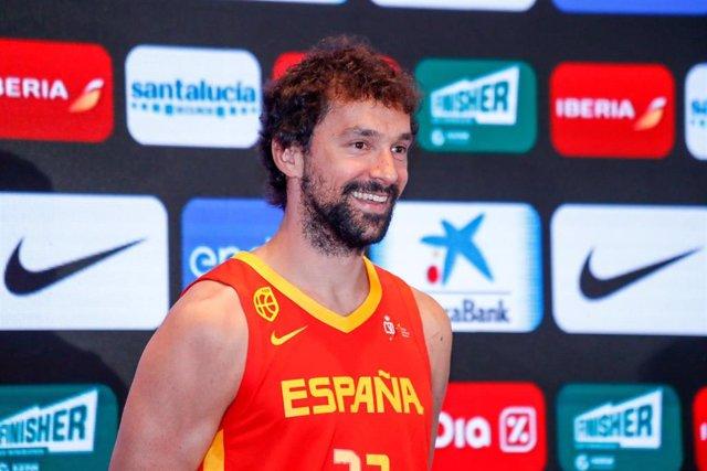 El jugador de la selección española Sergio Llull.