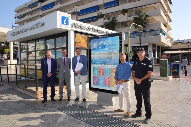 """El sector turístico destaca """"los frutos"""" de la Ordenanza de Convivencia en la mejora de la imagen de Marbella"""