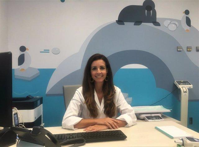 La cirujana pediátrica del Hospital Quirónsalud Córdoba Victoria Jiménez