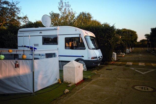 Camping Bahia de la Plata en Tarifa (Cádiz)