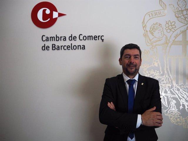 El presidente de la Cámara de Barcelona, Joan Canadell.