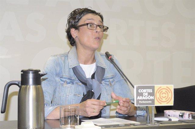 La diputada del PP en las Cortes de Aragón, Ana Marín.
