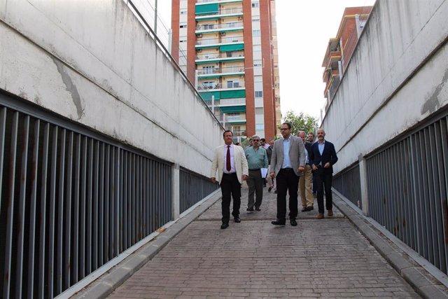 "Sevilla.- ""Visita técnica"" al parking de Bami con miembros de 12 empresas ""interesadas"" en la concesión licitada"