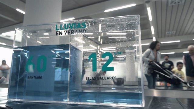 Campaña de concienciación sobre la escasez de agua en Baleares.