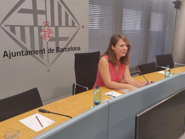 La teniente de alcalde de Urbanismo de Barcelona, Janet Sanz