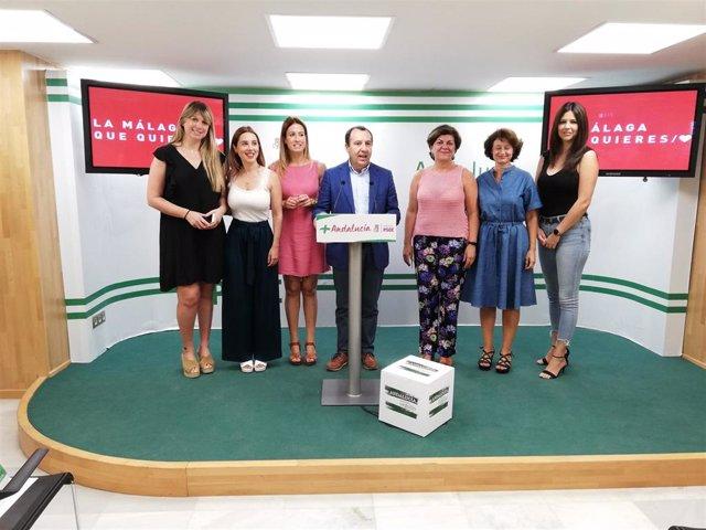 José Luis Ruiz Espejo, secretario general del PSOE de Málaga, hace balance de seis meses de gobierno de la Junta de Andalucía