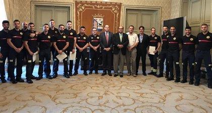 Trece nuevos bomberos se incorporan al Servicio de Prevención del Ayuntamiento de Salamanca