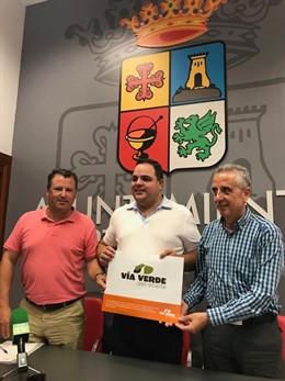 Presentación del nuevo logotipo de la Vía Verde del Aceite