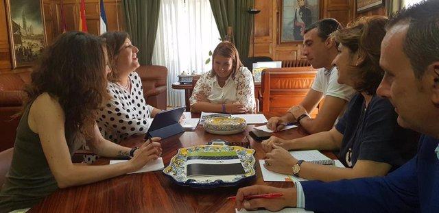 Reunión entre Junta y Ayuntamiento de Talavera