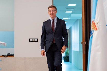 """Feijóo hace una """"felicitación extensiva"""" a los nuevos portavoces en las Cortes y cargos orgánicos del PP"""