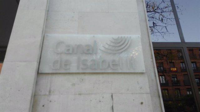 Imagen de recurso de la fachada de la sede del Canal de Isabel II en calle Santa Engracia.