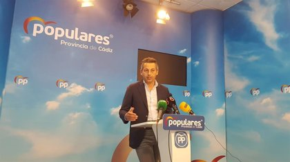 """PP de Cádiz, sobre los primeros seis meses del Gobierno andaluz: Han supuesto """"avances y soluciones"""" para la provincia"""