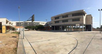 El IES de Binissalem retira nueve aulas modulares y contará en septiembre con 12 aulas de obra nueva