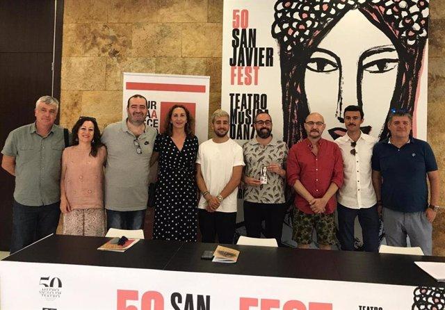 Presentación de los nominados a los Premios Azahar de las Artes Escénicas en la Región de Murcia 2019