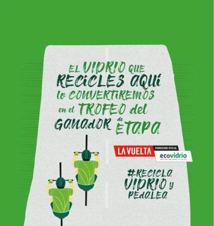 Ecovidrio instalará más de 40 contenedores especiales en su campaña 'Recicla y pedalea' durante 'La Vuelta 19'