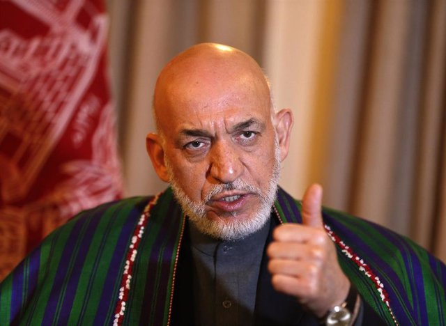 El expresidente afgano Hamid Karzai