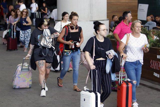 Turistas (archivo)