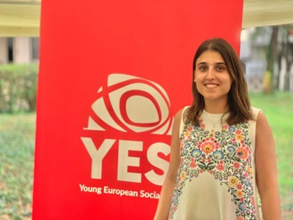 La española Alicia Homs, nueva presidenta de las Juventudes Socialistas Europeas